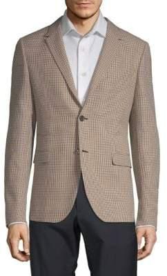 Valentino Plaid Wool Sportcoat