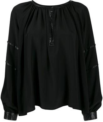 John Richmond Hunter blouse