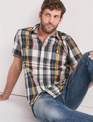 Lucky Brand Vivid Seersucker Workwear Shirt