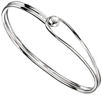 Elements Silver Women Bangle B5009 QRw4f