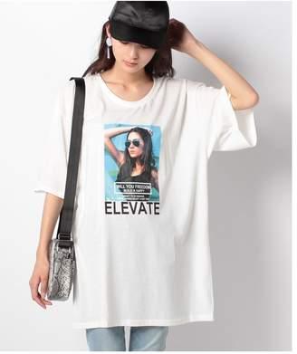 CECIL McBEE (セシル マクビー) - CECIL McBEE BIGプリントTシャツ