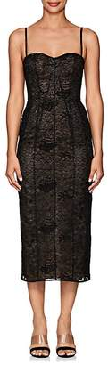 J. Mendel Women's Lace Fitted Cocktail Dress