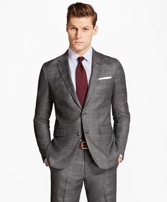 Brooks Brothers Milano Fit Multi-Plaid 1818 Suit