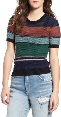 RVCA Brightside Stripe Knit Sweater
