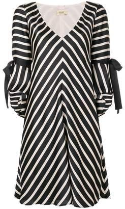 Liu Jo striped flared dress