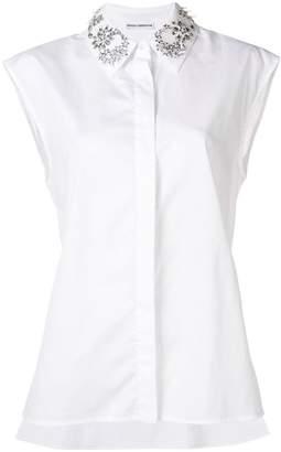 Paco Rabanne crystal embellished shirt