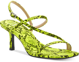 INC International Concepts Inc Women Loreline Strappy Dress Sandals, Women Shoes