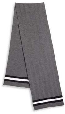 Bally Striped Wool Scarf