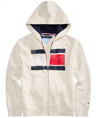 Tommy Hilfiger Toddler Boys Back Art Full-Zip Hooded Sweatshirt