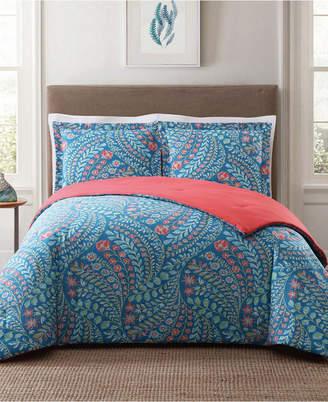 Pem America Style 212 Jaclyn Geo King Comforter Set Bedding