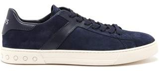 Tod's Low Top Suede Trainers - Mens - Navy