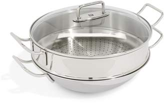 Zwilling Plus Wok With Steamer