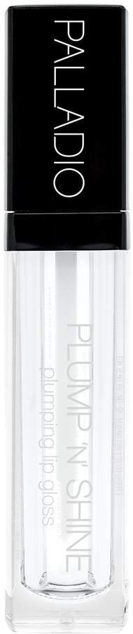 Palladio Plump N Shine Lip Gloss, Clear, 0.19 Ounce by