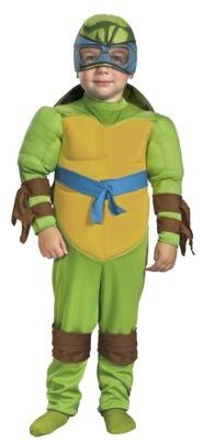 Leonardo Toddler Boy Muscle Costume