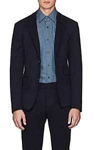 Prada Men's Wool-Cashmere Three-Button Sportcoat - Blue