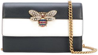 Gucci mini embellished striped bag