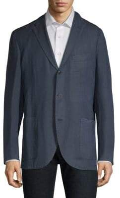 Boglioli Men's Stock Washed Suit Jacket - Black - Size 50 (40) R