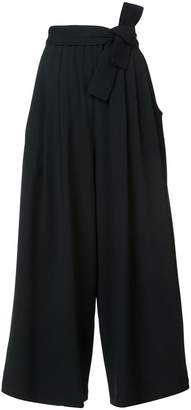 Tome cropped flared trousers