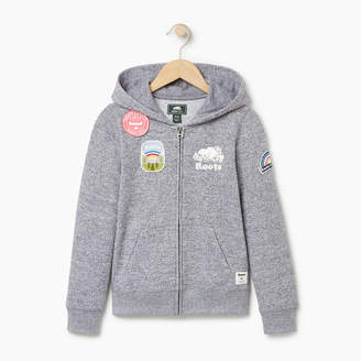 Roots Girls Patches Full Zip Hoody