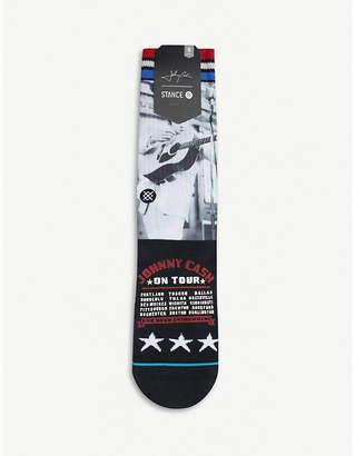 Stance Cash on Tour cotton-blend sock