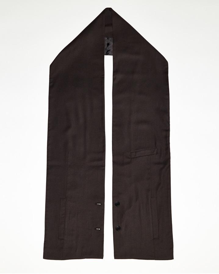 Maison Martin Margiela blazer scarf