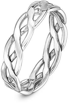 Theia Unisex 9 ct Yellow Gold, 5 mm Celtic Wedding Band Ring, Size G