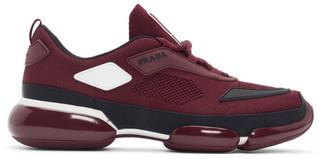 Prada Purple Sport Knit Cloudbust Sneakers