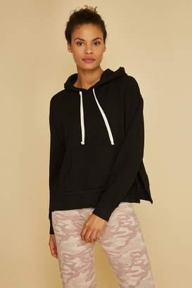 Monrow Pullover Hoodie W/ Side Slits