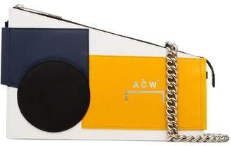 A-Cold-Wall* multi-coloured Corbusier leather cross-body bag