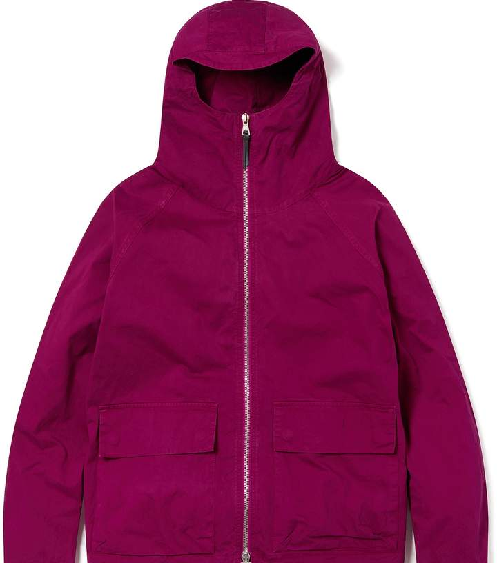 Albam Clothing - Zipped Hooded Parka Raspberry