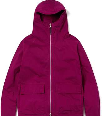 Albam Clothing - Zipped Hooded Parka Raspberry