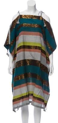 A Peace Treaty Silk-Blend Dress w/ Tags