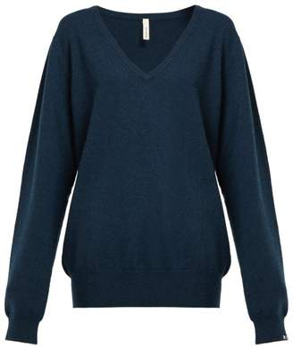 Extreme Cashmere - N89 Be Nice Oversized Stretch Cashmere Sweater - Womens - Navy