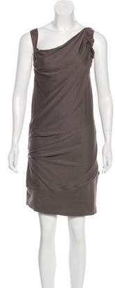 Brunello Cucinelli Sleeveless Asymmetrical Dress