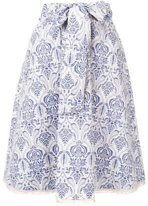 Steffen Schraut paisley pattern skirt