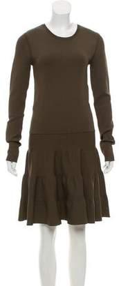 Barbara Bui Flared Long Sleeve Dress