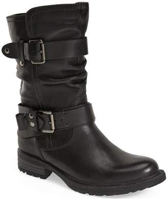 Earth Women's Everwood Black Calf Leather boots 8 M