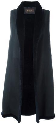 Loro Piana 'Kenny' long vest $4,067 thestylecure.com