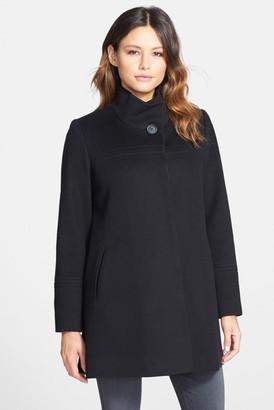 Fleurette Wool Stand Collar Car Coat $1,049 thestylecure.com