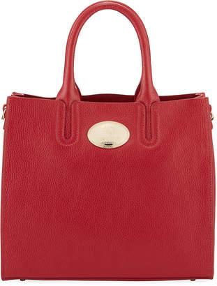Roberto Cavalli Tall Calf Leather Tote Bag