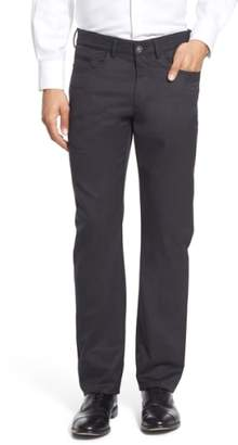 Ballin Flat Front Solid Wool Blend Trousers