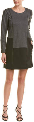 BCBGMAXAZRIA Zipper Sweatshirt Dress