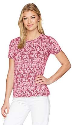 Lucky Brand Women's All Over Print TEE