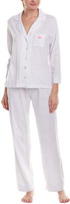 Carole Hochman 2Pc Pajama Pant Set
