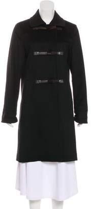 Loro Piana Knee-Length Cashmere Coat