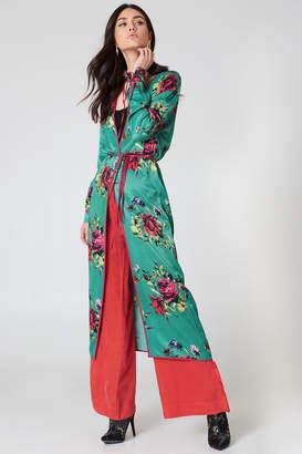 Free People Slim Kimono Duster Coat