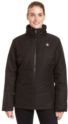 Women's Champion Hooded 3-in-1 Systems Jacket $180 thestylecure.com