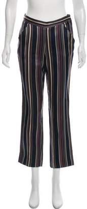 Ter Et Bantine Mid-Rise Striped Pants
