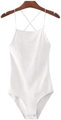 Goodnight Macaroon 'Josy' Criss Cross Bodysuit (4 Colors)