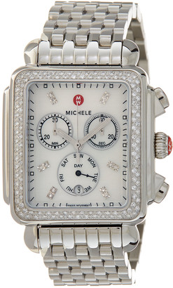 Michele Women's Deco Diamond Watch